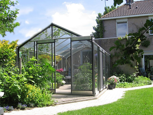 Seră de grădină cu pereții drepți - Gama STANDARD 17,90m²