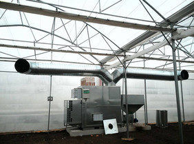 generator aer cald peleti