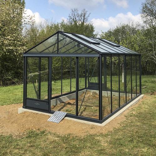 Seră de grădină cu pereții drepți  - Gama LUX 11,80m²