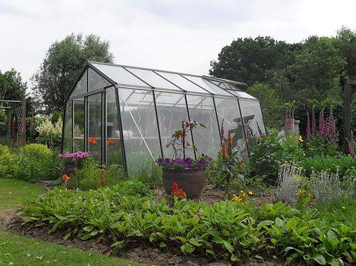 Seră de grădină cu pereții oblici S105H - Gama STANDARD 8,29m²