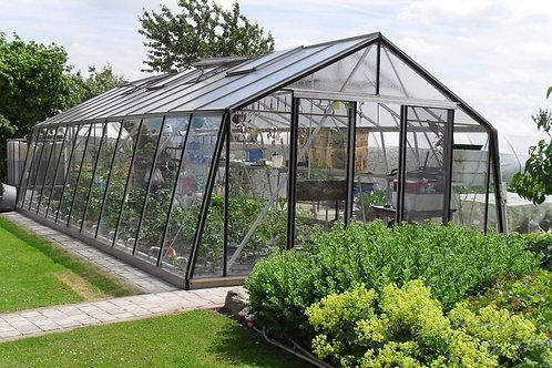 Seră de grădină cu pereții oblici S310H- Gama STANDARD 32,82m²
