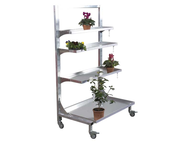 etajera de prezentare flori