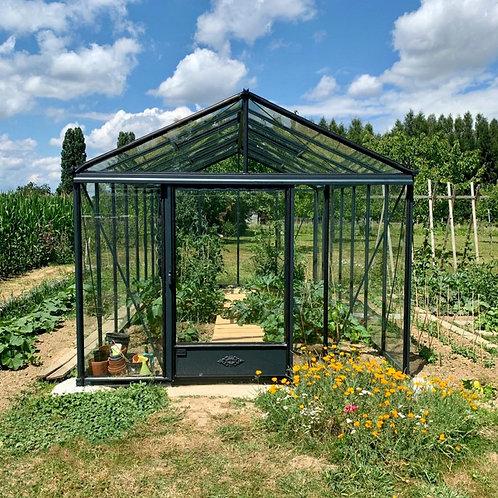 Seră de grădină cu pereții drepți  - Gama LUX 18,70m²