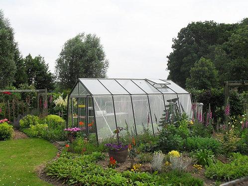 Seră de grădină cu pereții oblici  - Gama ACTIUNE 13,62m2