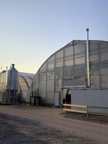 încălzire seră cu generator de aer cald