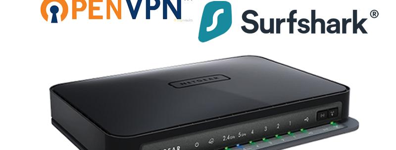Netgear Surfshark WNDR3700 VPN Router