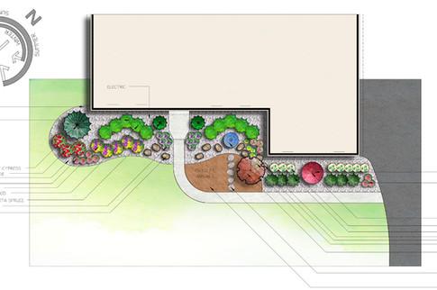 Entry Planting Plan