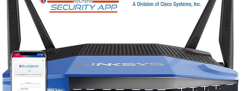 Linksys WRT3200ACM Guardian Security App VPN Router