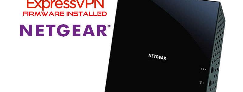 Netgear r6300v2  Express VPN Router