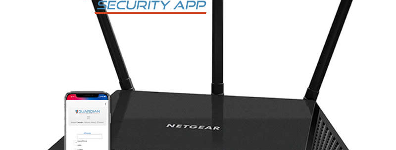 Netgear R6700 Guardian Security App VPN Router