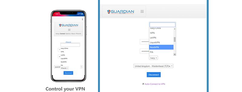 Guardian Security Router App 'DIY' Installation