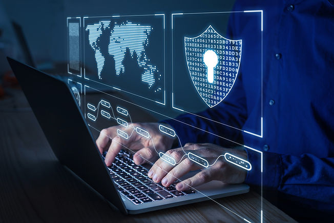 Cyber security and network protection wi