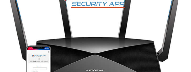 Netgear R9000 Guardian Security App VPN Router