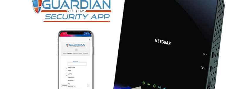 Netgear R6250 Guardian Security App VPN Router
