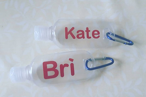 Empty Hand Sanitizer Bottles