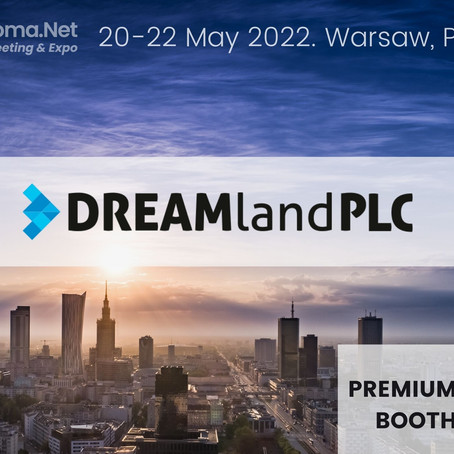 The first premium booth is already booked! Welcome DREAMland.