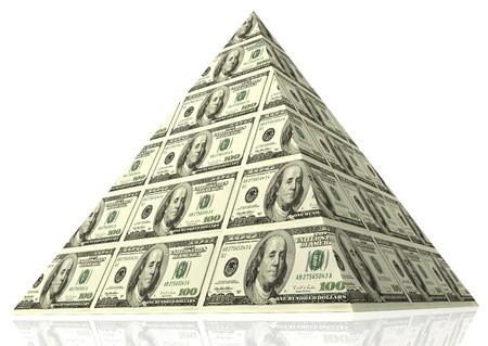 Los intereses económicos sostienen la pirámide.