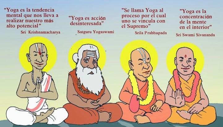 Las distintas maneras de entender el yoga a través del tiempo tienen un mismo fin; trascender lo humano para acercarnos a la divinidad.