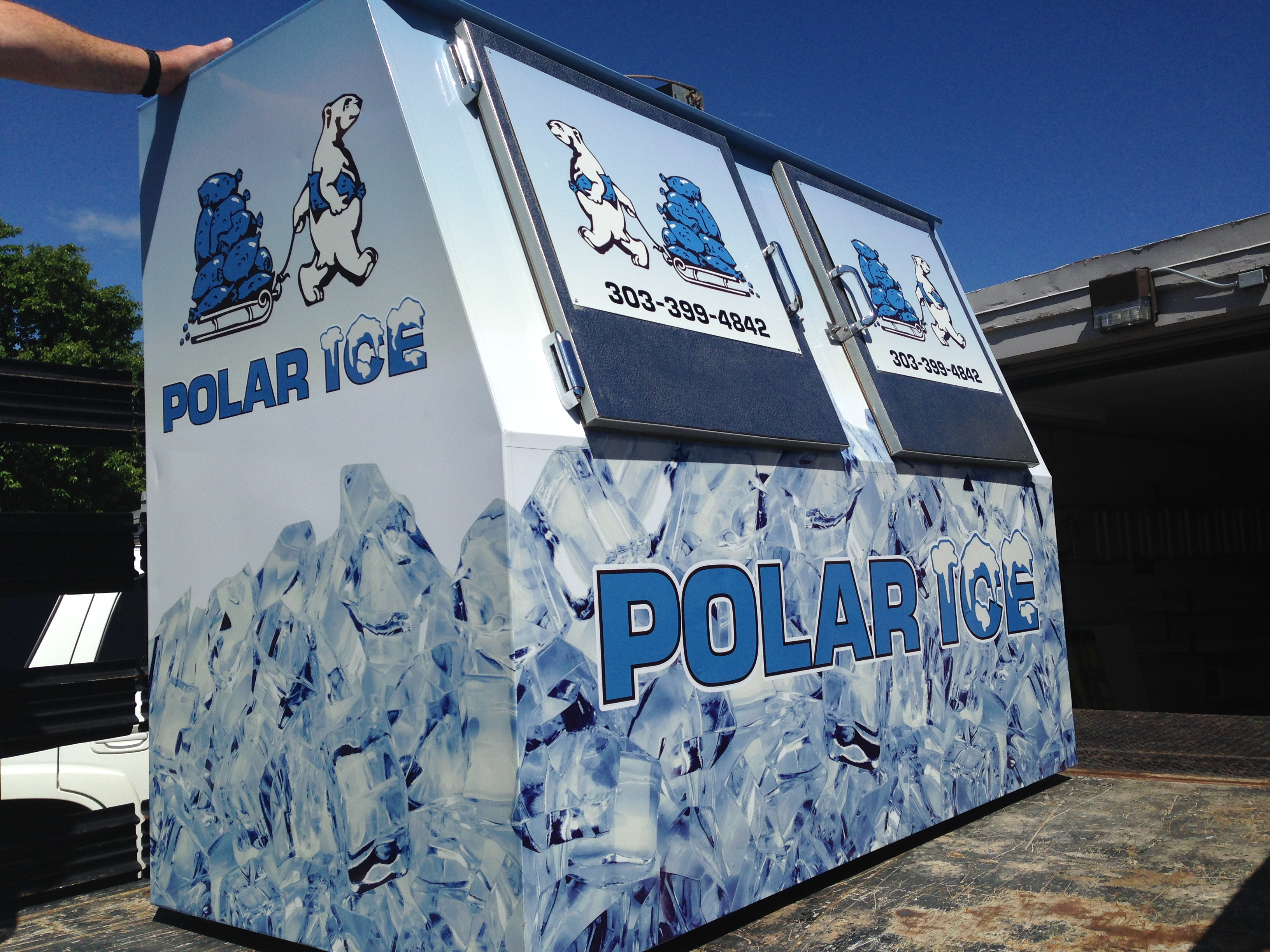 Polar Ice Logo Box