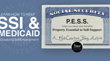 Worried About #DisabilitySelfEmployment Impacting Your SSI Benefits? Let us introduce you to P.E.S.S