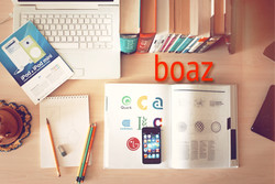 Homepage of Boaz Branding