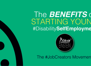 #DisabilitySelfEmployment: The Benefits of Starting Young