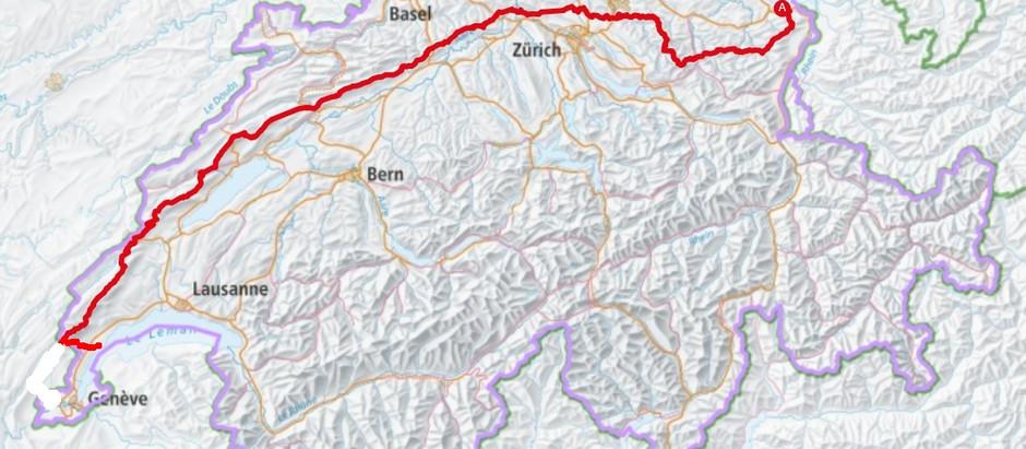 Wandern - Quer durch die Schweiz