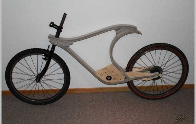 Wooden bicycle no.1