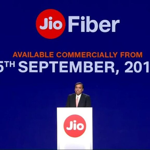 Reliance AGM 2019: Jio Gigafiber to be Commercially launched on 5th September