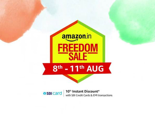 Amazon Freedom Sale starts from 8th August: Everything you need to know