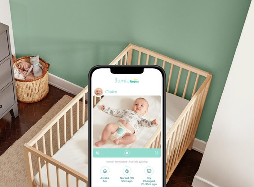 Lumi by Pampers – A Smart Diaper that sends Notifications when your Baby gets Wet
