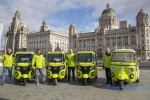 Ola autos in Liverpool: Company launches fleet of Bajaj, Piaggio 'tuk tuks' in the UK