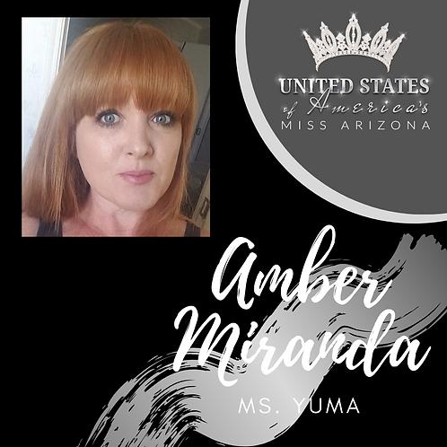 Amber Miranda, Ms. Yuma