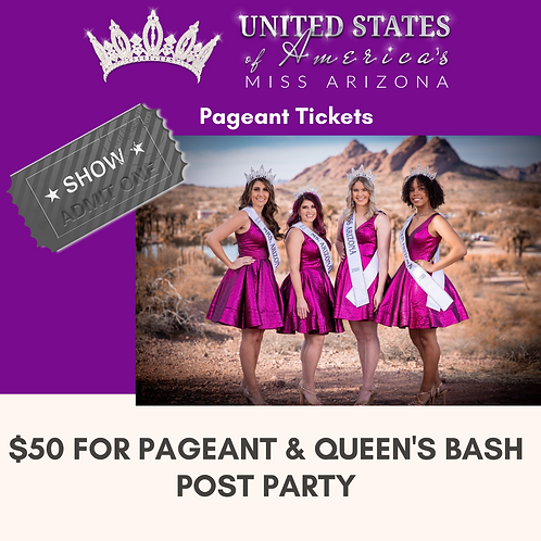 Pageant Show Tickets
