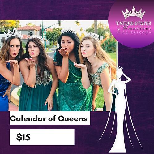 2020 Calendar of Queens
