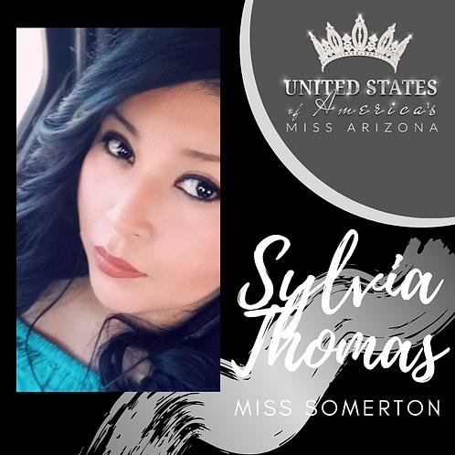 Sylvia Thomas, Miss Somerton