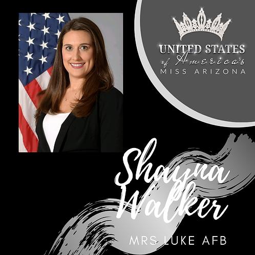 Shayna Walker, Mrs. Luke AFB