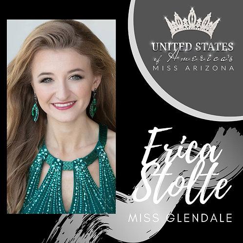 Erica Stolte, Miss Glendale