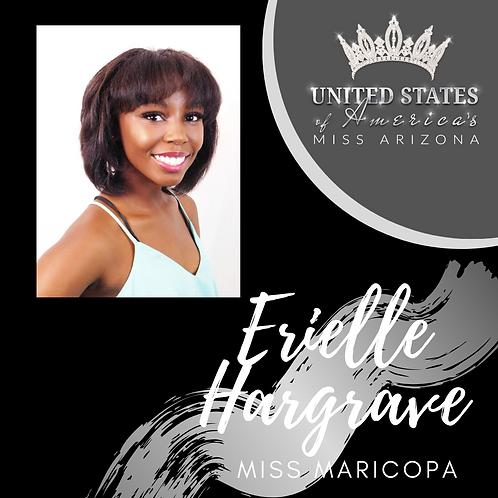 Erielle Hargrave, Miss Maricopa