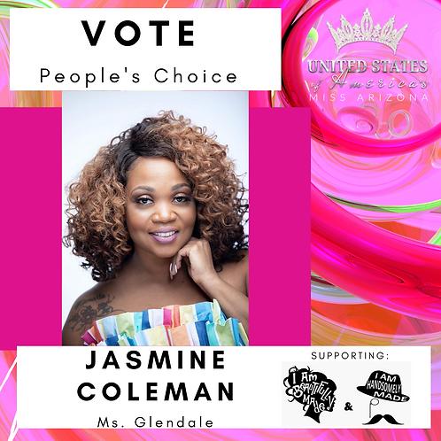Jasmine Coleman, Ms. Glendale