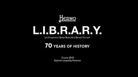 Herno L.I.B.R.A.R.Y. - 70 Years of History Event
