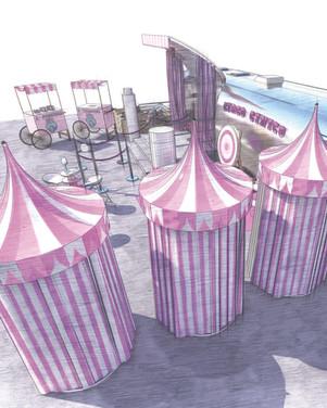 Circo Cinico - Tour Estetista Cinica - 23Bassi Progettazione