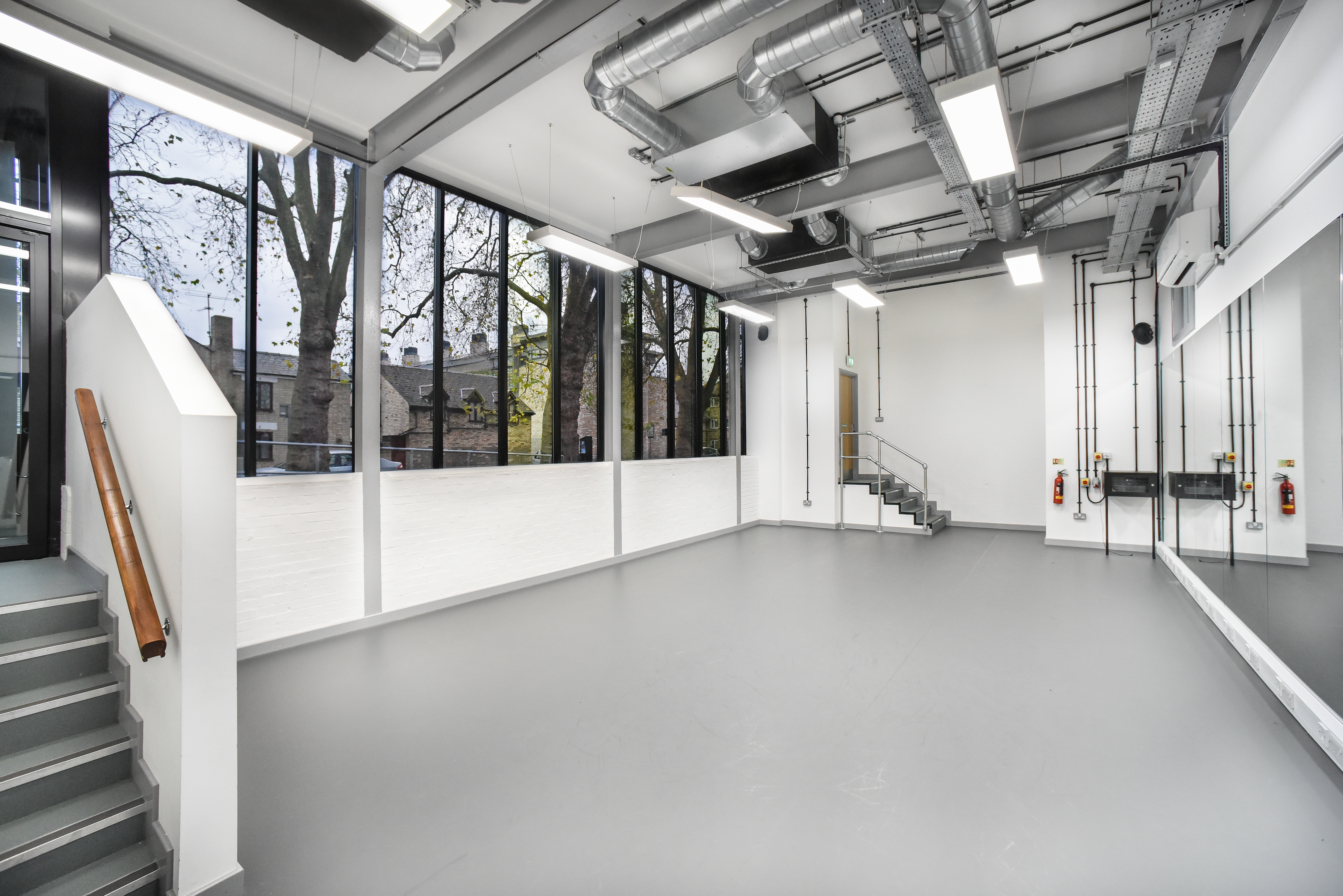 CSVPA Dance room