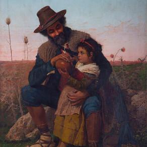 Pastor y niña - Filippo Indoni