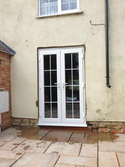 Window to doors
