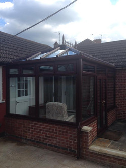 After shot of Rosewood conservatory