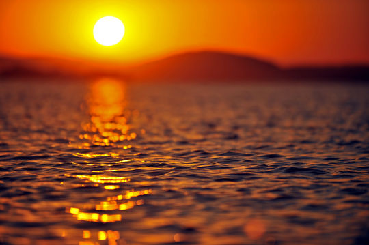 Reflexão da informação, amar de novo, poesia, poema, amor, nascer do sol