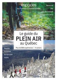 Le guide du plein air au Québec