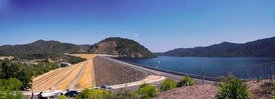 Lake Eildon Dam Wall