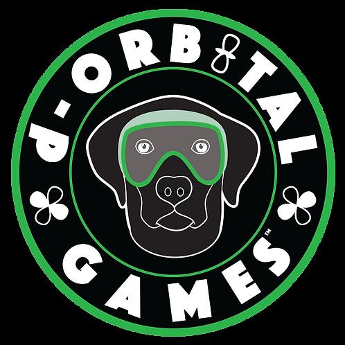 "3"" x 3"" Science Dog Sticker - Labrador"